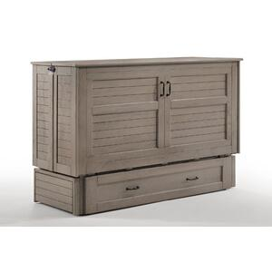 Poppy Murphy Cabinet Bed in Brushed Driftwood finish*