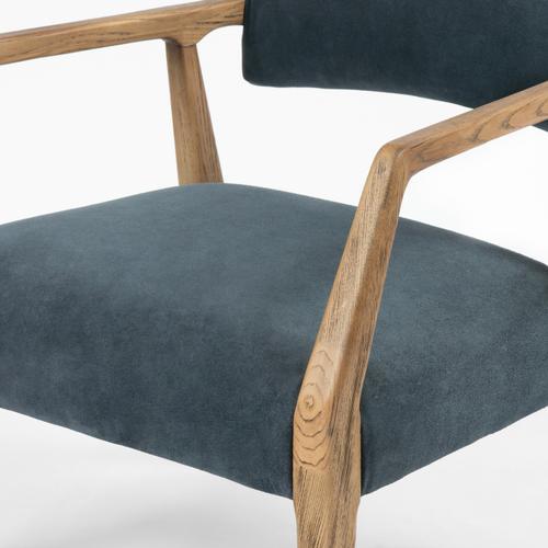 Montana Blue Cover Tyler Arm Chair