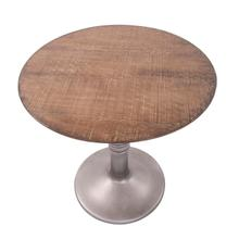 View Product - Distressed Farm House Round Bistro Table