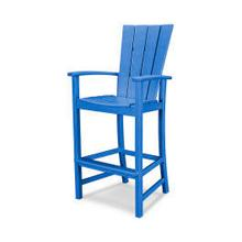 View Product - Quattro Adirondack Bar Chair in Pacific Blue