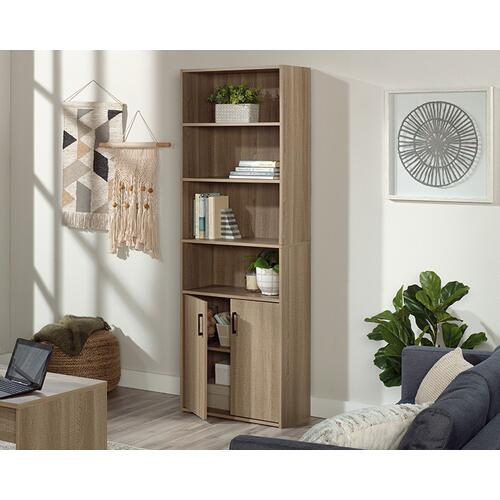 Sauder - Bookcase With Doors