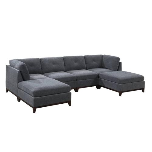 6-pcs Modular Sectional & Sofa Set