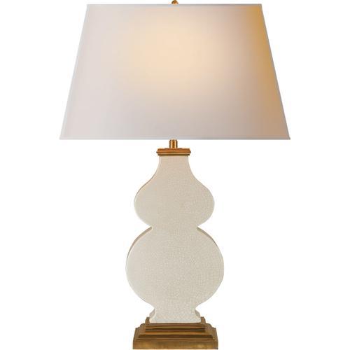 Visual Comfort - Alexa Hampton Anita 29 inch 150.00 watt Tea Stain Porcelain Decorative Table Lamp Portable Light