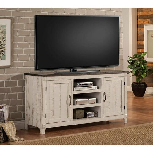 MESA 63 in. TV Console with two tone finish
