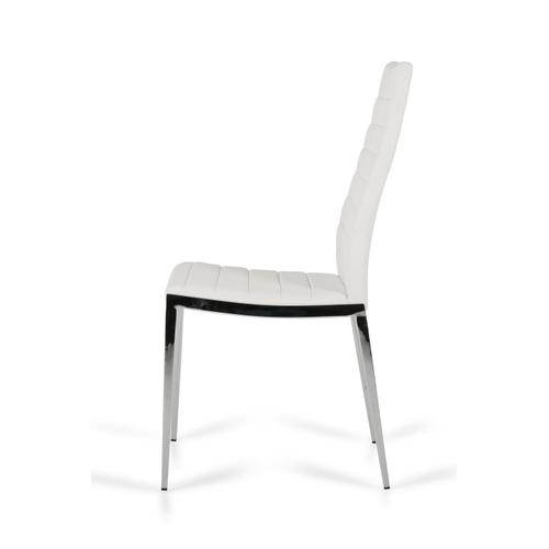 VIG Furniture - Libby - Modern White Leatherette Dining Chair (Set of 2)