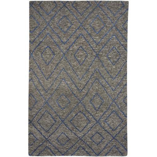 Kasbah-Jewel Graphite - Rectangle - 3' x 5'