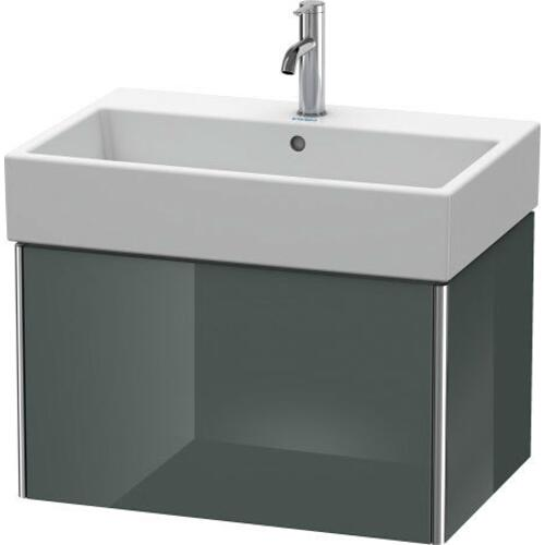 Product Image - Vanity Unit Wall-mounted, Dolomiti Gray High Gloss (lacquer)