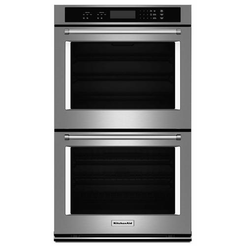 """Gallery - 27"""" Double Wall Oven with Even-Heat™ Thermal Bake/Broil - Stainless Steel"""