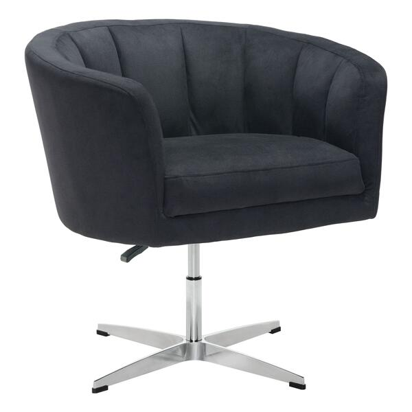 See Details - Wilshire Occasional Chair Black