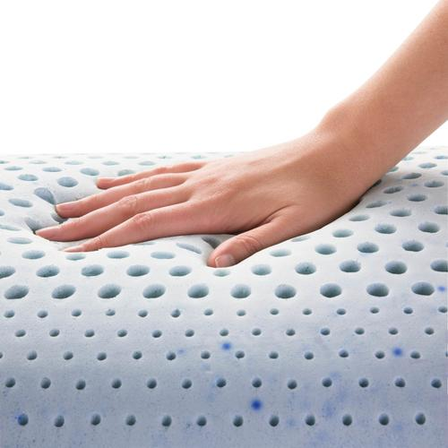 Zoned Gel Talalay Latex Queen Low Loft Plush