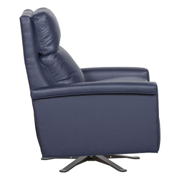 See Details - Margo Manual Push Back Swivel Recline with Five Prong Base