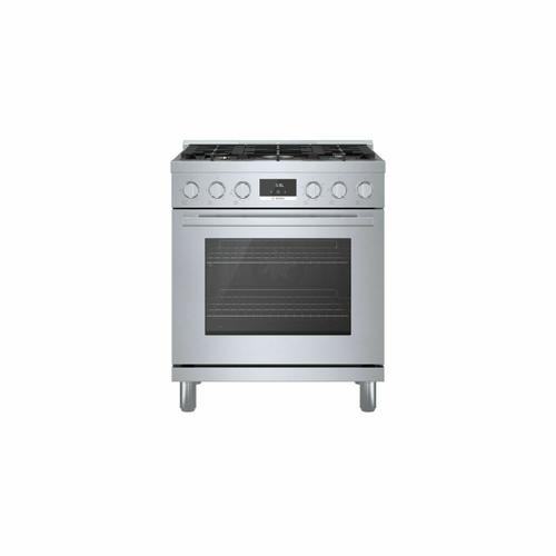 800 Series Gas Freestanding Range 30'' Stainless Steel HGS8055UC