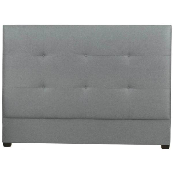 See Details - Queen-Sized Derrick Tufted Bed Headboard in Espresso