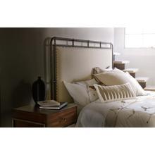 See Details - Studio 7H Slumbr Queen Metal Upholstered Bed