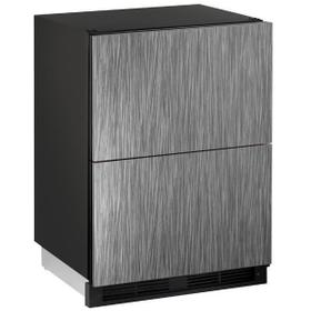 """24"""" Refrigerator Drawers With Integrated Solid Finish (115 V/60 Hz Volts /60 Hz Hz)"""