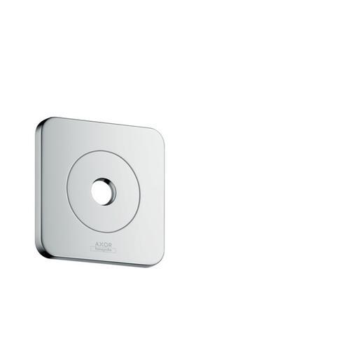 "Chrome Wall Plate 5"" x 5"" SoftCube"