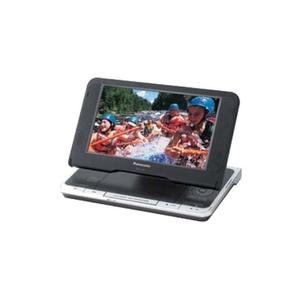 "Panasonic8.5"" Diagonal Widescreen Portable DVD Player with Carrying Case"