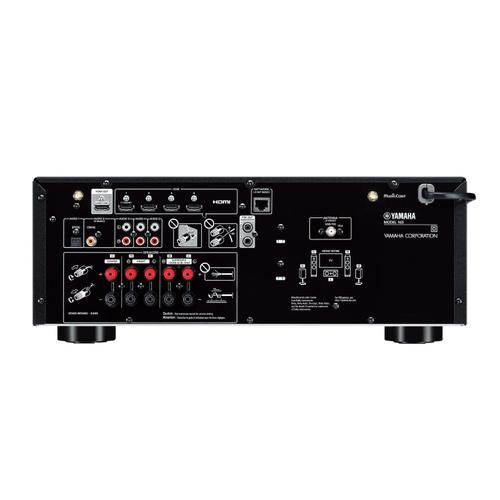 RX-V4A Black 5.2-Channel AV Receiver with 8K HDMI and MusicCast
