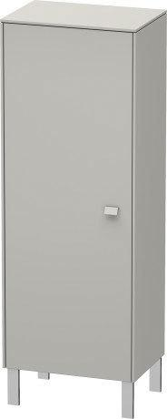 Semi-tall Cabinet Individual, Concrete Gray Matte (decor) Product Image