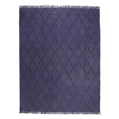 Classic Home - Pergola Purple Flat Weave 8x10