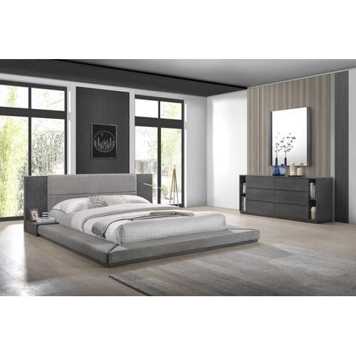VIG Furniture - Nova Domus Jagger Modern Grey Mirror