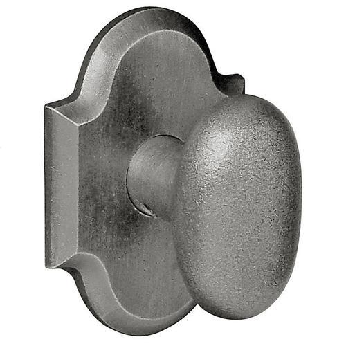 Baldwin - Distressed Antique Nickel 5024 Oval Knob