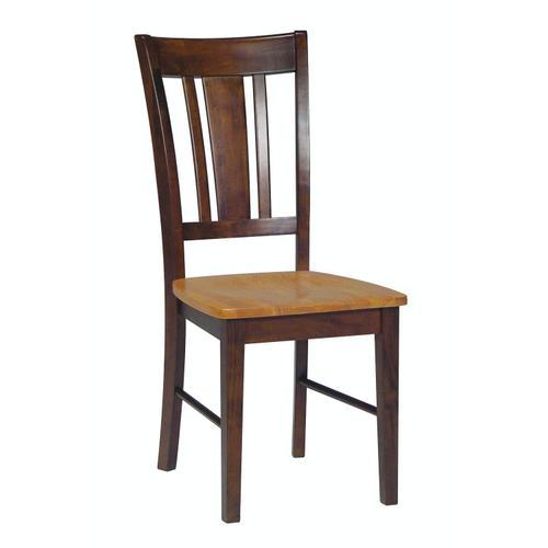 John Thomas Furniture - San Remo Chair in Cinnamon & Espresso