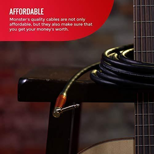 Monster Cable - Monster Prolink Acoustic Instrument Cable - 12 ft