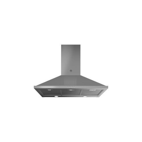 36 Chimney Hood, 1 motor, 600 CFM Stainless Steel