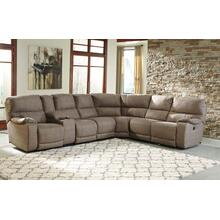 Bohannon 4-piece Reclining Sectional With Power