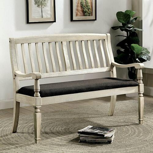 Furniture of America - Georgia Love Seat Bench