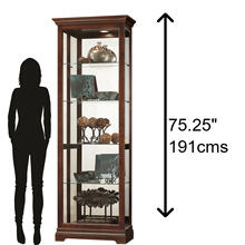 Howard Miller Brantley VI Curio Cabinet 680676