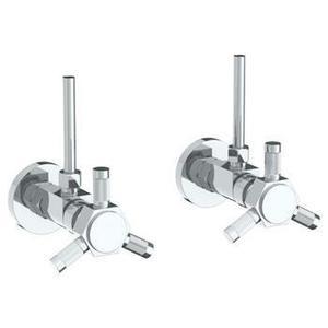 Lavatory Angle Stop Kit -1/2 Compression X 3/8 Od Compression