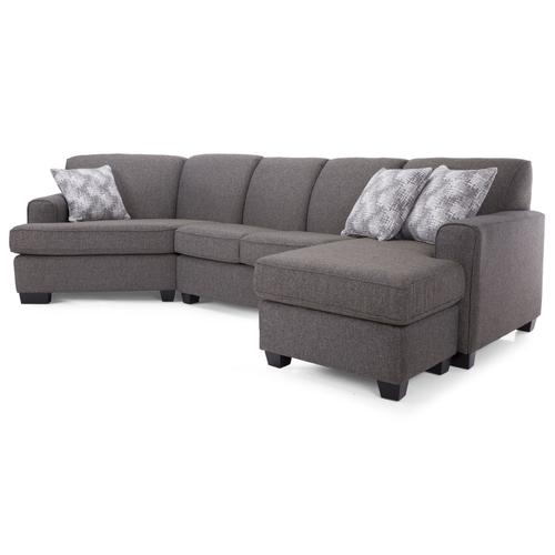 2805-20 RHF Sofa with Chaise