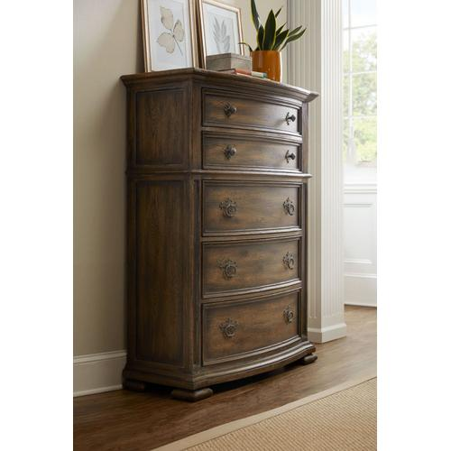 Bedroom Gillespie Five-Drawer Chest