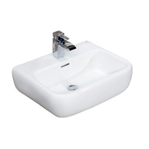 Metropolitan 520 Wall-Hung Basin - Single-Hole