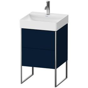 Vanity Unit Floorstanding, Night Blue Satin Matte (lacquer)