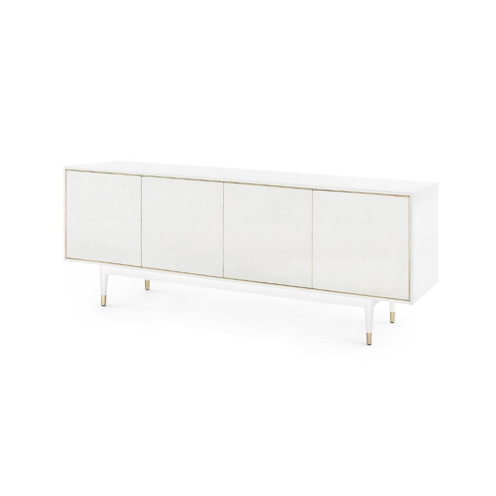 Raymond 4-Door Cabinet, White