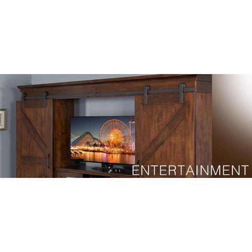 "Santa Fe 123""W Entertainment Wall"