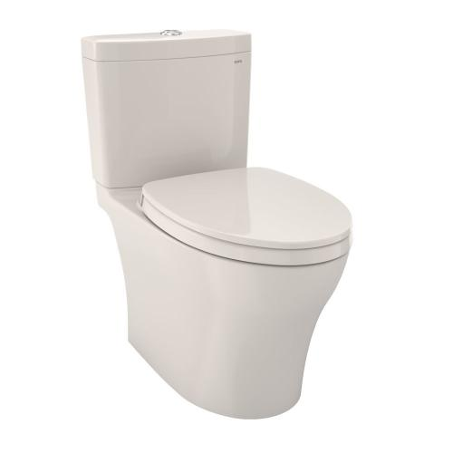 Aquia® IV Toilet - 1.0 GPF & 0.8 GPF, Universal Height - WASHLET+ Connection - Sedona Beige