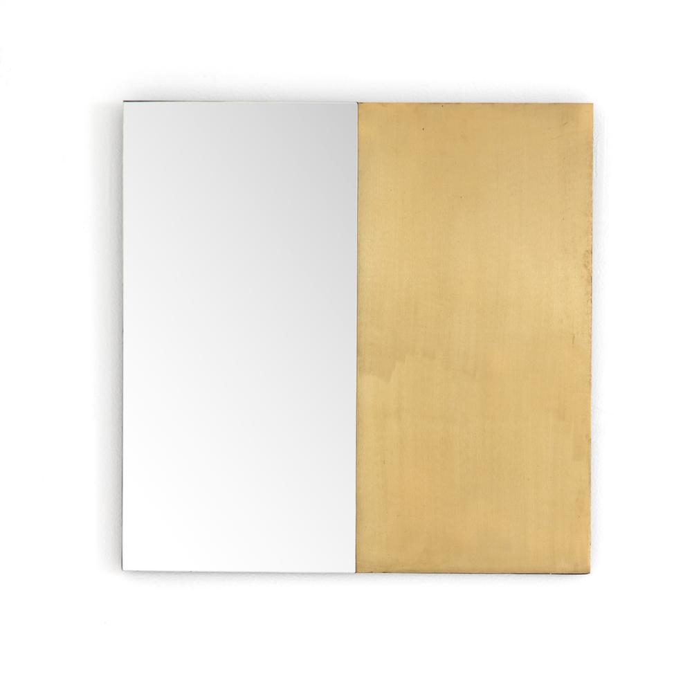 Rustic Brass Finish Beaufort Mirror