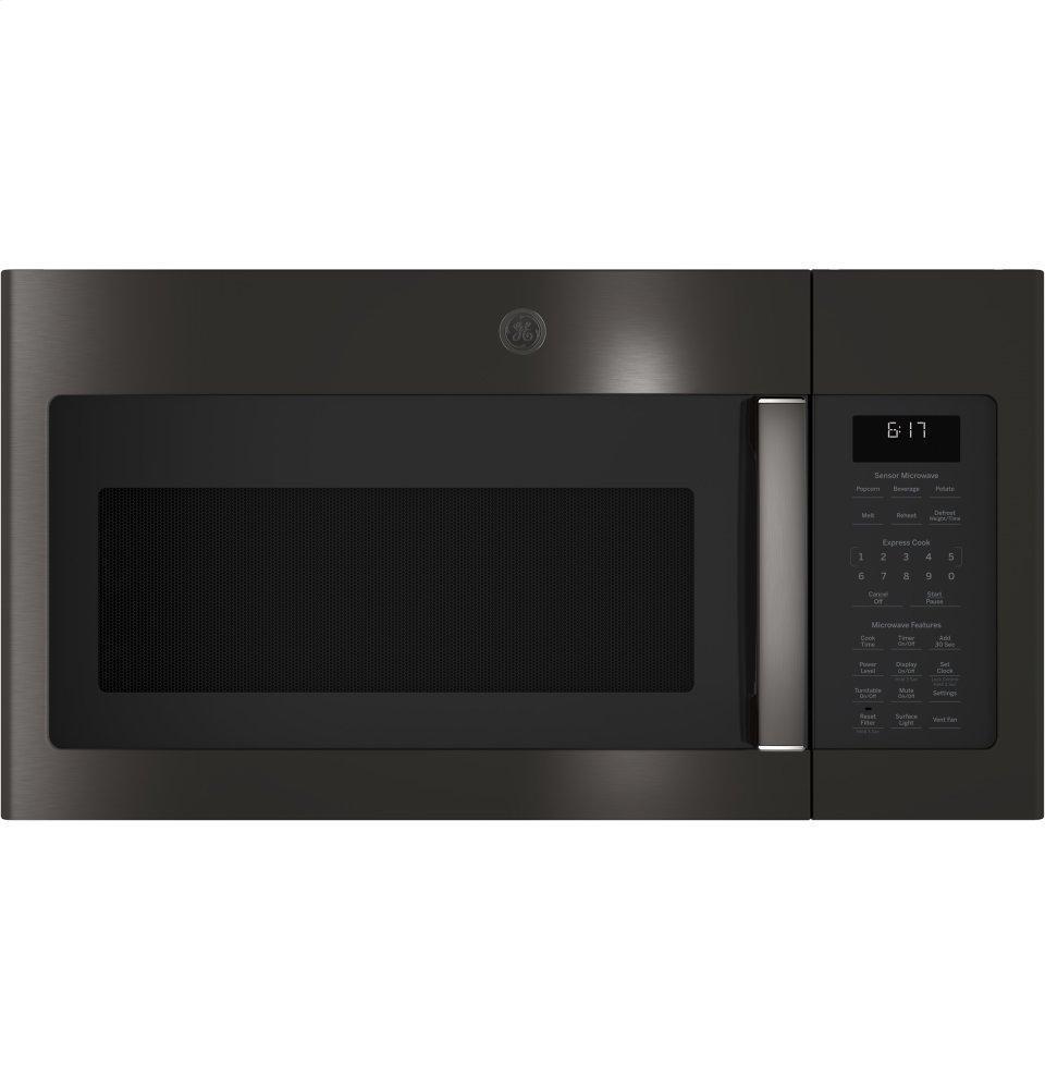 GE1.7 Cu. Ft. Over-The-Range Sensor Microwave Oven