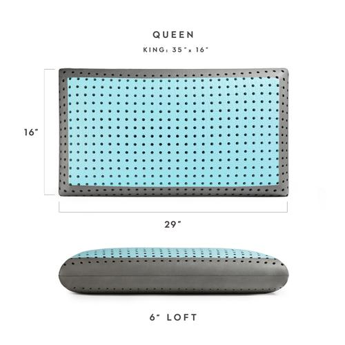 Z Carbon Cool LT Pillow, Queen