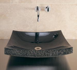 Zen Vessel Black Granite Product Image