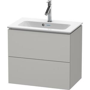 Vanity Unit Wall-mounted Compact, Concrete Gray Matte (decor)