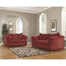 Signature Design by Ashley Darcy Living Room Set in Salsa Microfiber