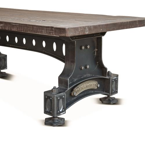"""Old Mill 53"""" Reclaimed Wood Coffee Table"""