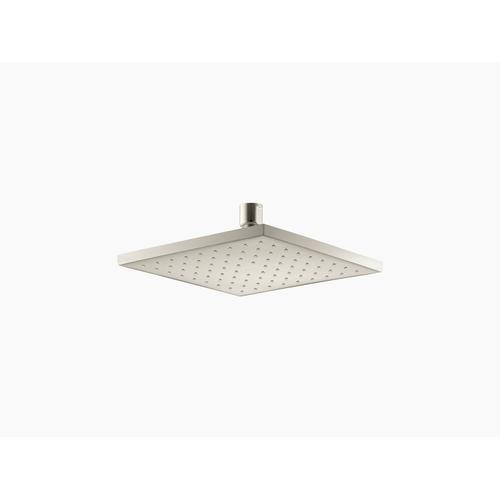 """Vibrant Polished Nickel 8"""" Rainhead With Katalyst Air-induction Technology, 2.5 Gpm"""