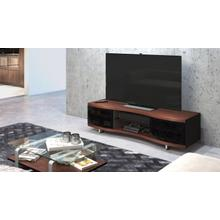 See Details - Ola 8137 Media Cabinet in Chocolate Stained Walnut