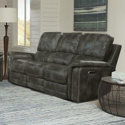 See Details - BELIZE - ASH Power Sofa